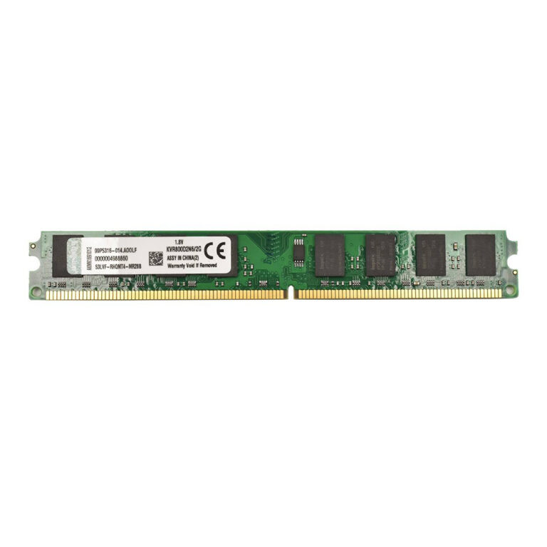 رم DDR2 دسکتاپ ۸۰۰ مگاهرتز کینگستون ظرفیت ۲ گیگابایت
