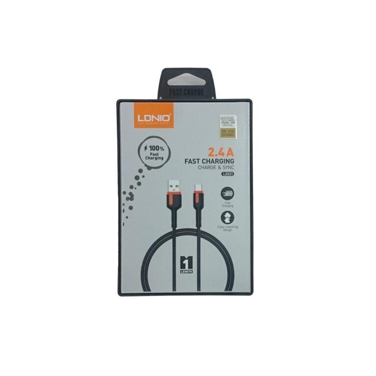 کابل شارژر MICRO-USB اندروید الدینیو مدل LS531