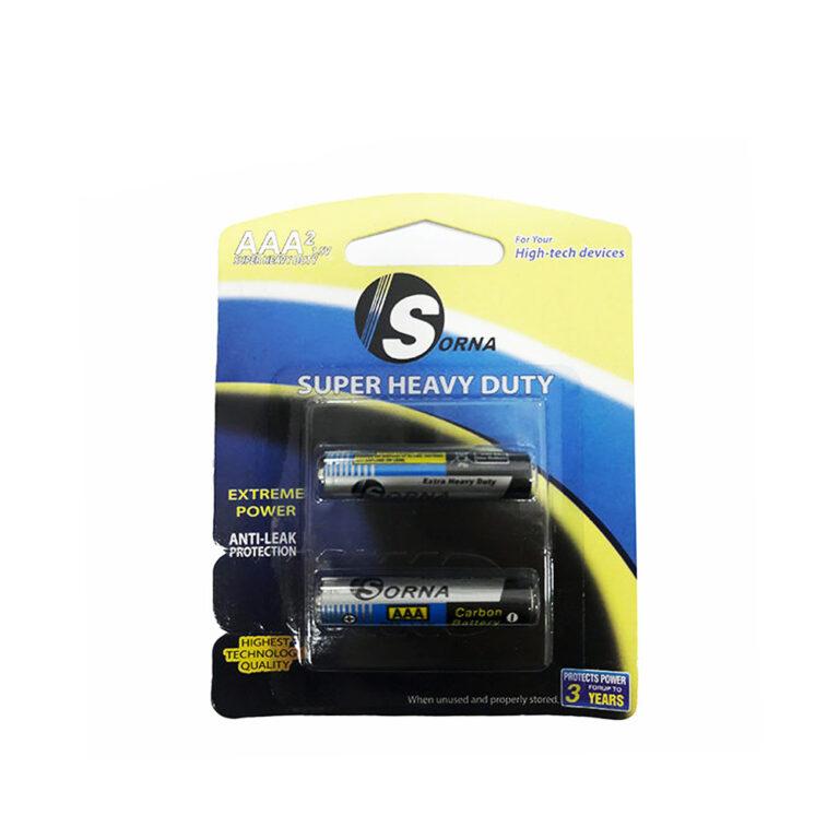 باتری نیم قلمی سورنا مدل Sorna-128