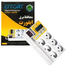 محافظ برق 6 خروجی ایفورت مدل E6000