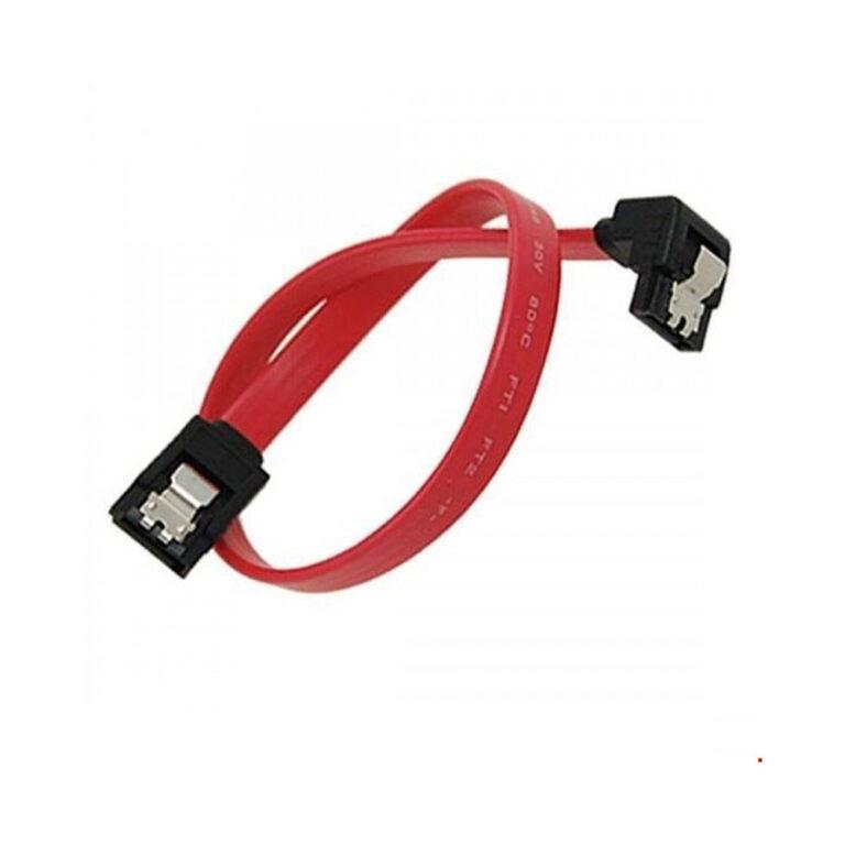 کابل دیتا ساتا 90 درجه قفل دار SATA 3