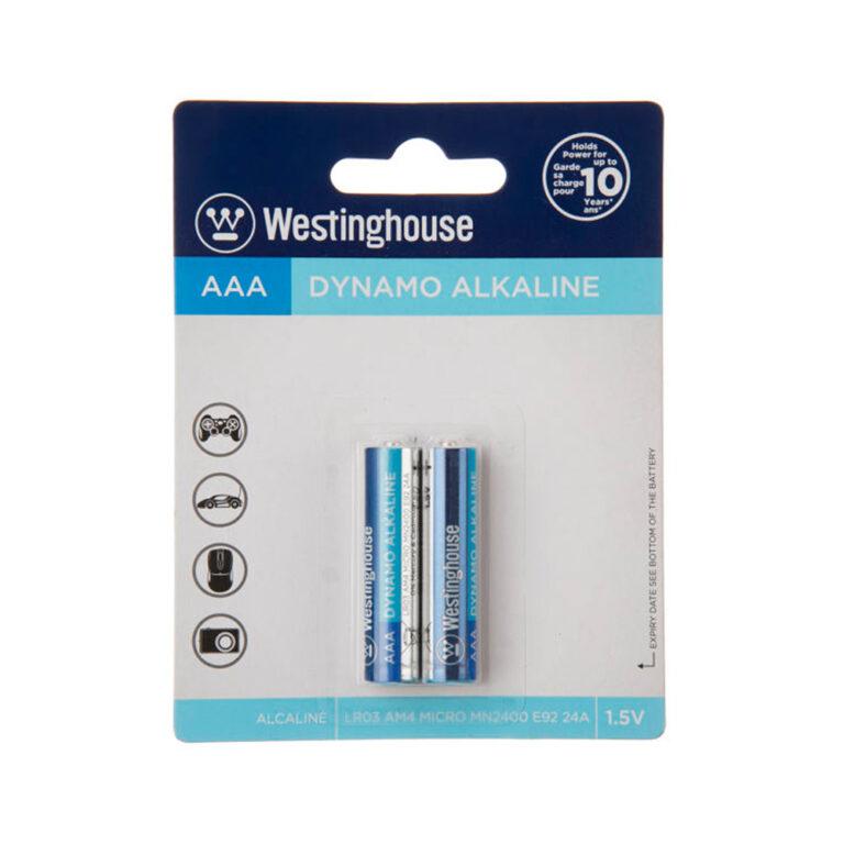 باتری نیم قلمی وستینگهاوس مدل Dynamo Alkaline LR03 AM4 MICRO