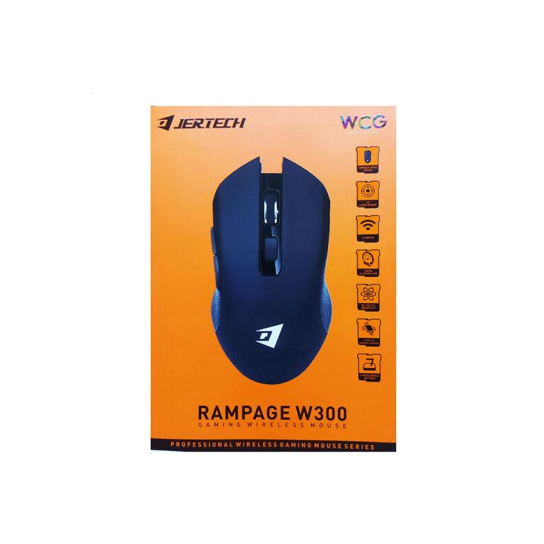 ماوس گیمینگ بی سیم جرتک مدل RAMPAGE W300