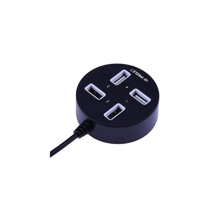 هاب ۴ پورت USB 2.0 ایکس پی پروداکت مدل XP-H813C